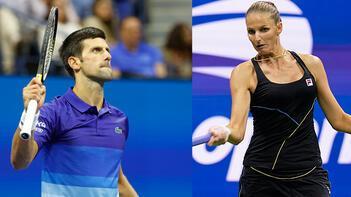 Djokovic ve Karolina Pliskova, ABD Açık'ta 3. tura çıktı