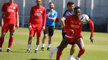 Demir Grup Sivasspor, Fenerbahçe maçının hazırlıklarını sürdürdü