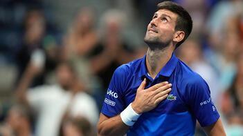 ABD Açıkta Djokovic ve Sakkari yarı finalde