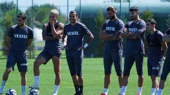 Trabzonspor, Galatasaray hazırlıklarını sürdürdü