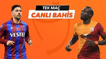 Trabzonspor-Galatasaray maçı canlı bahis seçeneğiyle Misli.com'da