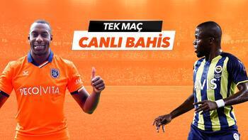 Başakşehir - Fenerbahçe maçıTek Maç ve Canlı Bahis seçenekleriyle Misli.com'da