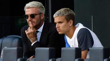 Beckham'ın oğlu Romeo, ilk maçına çıktı