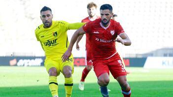 Boluspor-İstanbulspor maçında 2 gol sesi