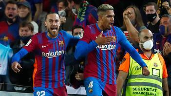 Barcelona, La Ligada bir puanı son dakikada kurtardı