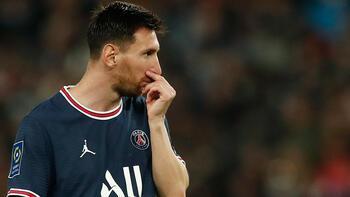 Son dakika - PSG'nin flaş transferi Messi sol dizinden sakatlandı