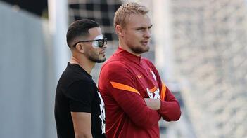 Galatasarayda Omar Elabdellaoui takımdan ayrı özel çalışma yaptı