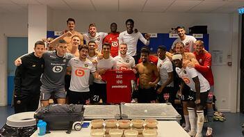Son dakika haberi: Lille art arda ikinci galibiyetini aldı