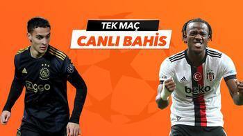 Ajax - Beşiktaş maçı Tek Maç ve Canlı Bahis seçenekleriyle Misli.com'da