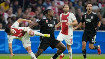 Ajax-Beşiktaş: 2-0