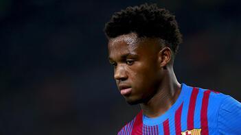 Barcelona, Ansu Fati ile sözleşme yeniledi! Serbest kalma bedeli 1 milyar Euro