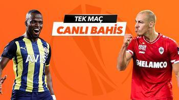 Fenerbahçe - Antwerp maçı canlı bahis heyecanı Misli.com'da