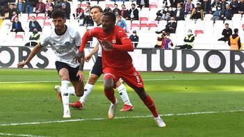 Sivasspor-Adana Demirspor: 1-1