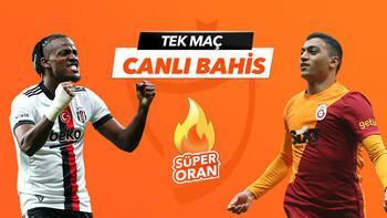 Beşiktaş-Galatasaray derbisi Tek Maç ve Canlı Bahis seçenekleriyle Misli.com'da