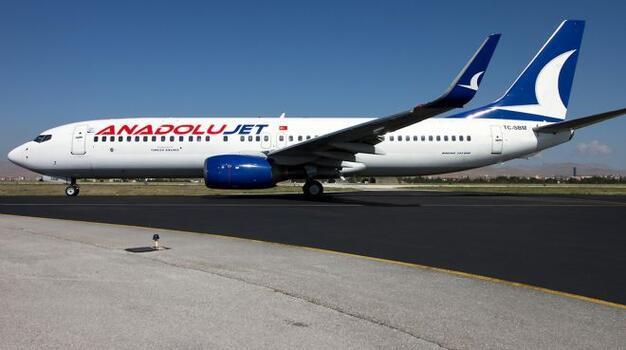 AnadoluJet, Antalya, Dalaman ve Bodrum'a haftalık 102 sefer düzenleyecek