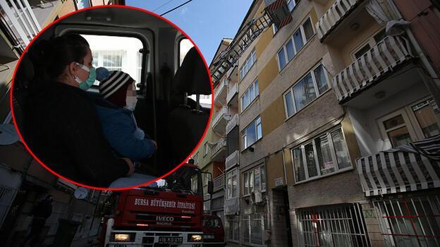 Birlikte yaşadığı kadını ve çocuğunu eve kilitleyen adam tutuklandı