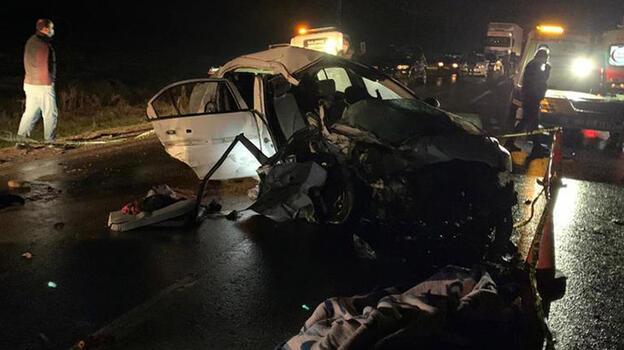 Son dakika: Gaziantep'te feci kaza! 2 ölü, 8 yaralı var
