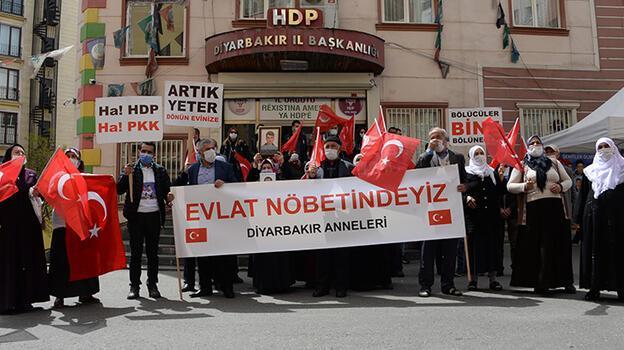 HDP önündeki eylemde 583. günde aile sayısı 224 oldu