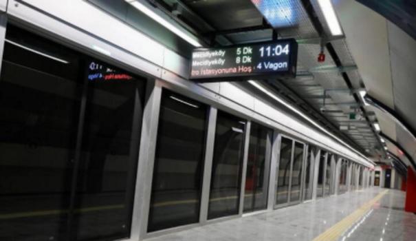 Son dakika: Mecidiyeköy Metro İstasyonu kapatıldı