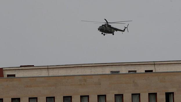 Son dakika... Ermenistan'da bakanlık personeli helikopterle tahliye edildi!