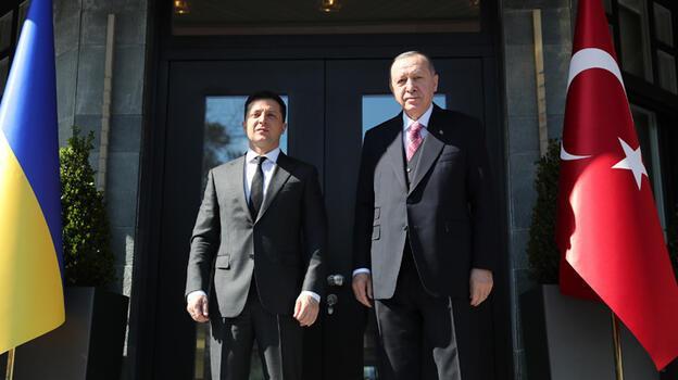 Son dakika... Erdoğan ve Zelenskiy görüşüyor