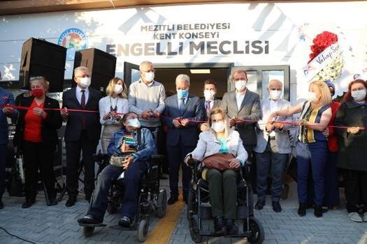 Mezitli Belediyesi, Engelli Meclisi'ni açtı