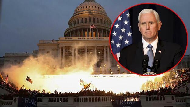 Kongre Baskını'nda Pentagon'u aramış! 'Burayı temizleyin'