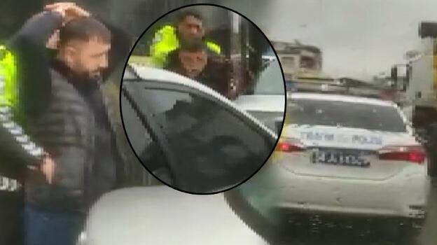 Polis ile korsan taksici arasında nefes kesen kovalamaca! Böyle yakalandı