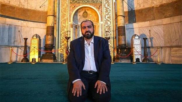 Son dakika... Ayasofya Camii eski imamı Mehmet Boynukalın'dan haber var! Dua istedi