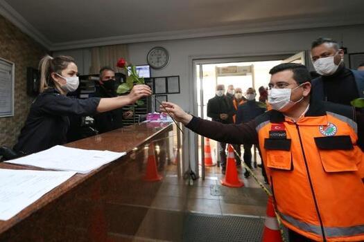 Başkan Tütüncü'den polis haftasında sürpriz ziyaret