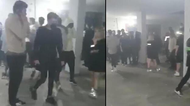 İzmir'de villaya baskın! 52 kişiye 180 bin lira ceza