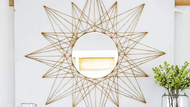 Yıldız aynayla duvarınızı şenlendirin