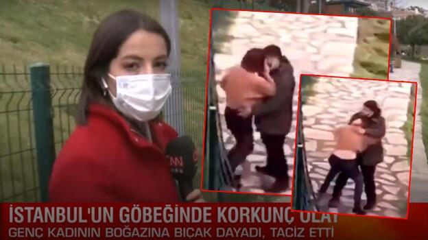 Son dakika... İstanbul Cihangir'de korkunç olay! Genç kadını taciz etti, boğazına bıçak dayadı