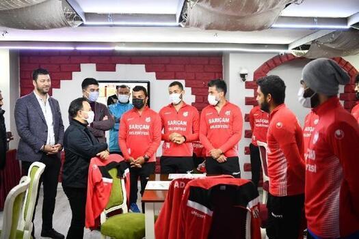 Başkan Uludağ, Sarıçam Kürkçülerspor'dan şampiyonluk istedi