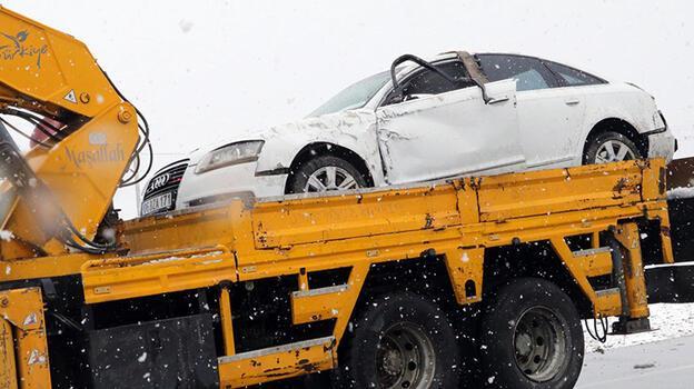 Yargıtay Cumhuriyet Savcısı Doğan Kaya, kaza geçirdi! 4 kişi yaralandı