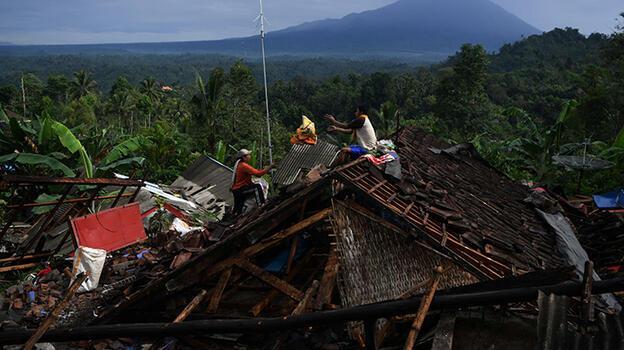 Türkiye'den Endonezya'da meydana gelen deprem için taziye mesajı
