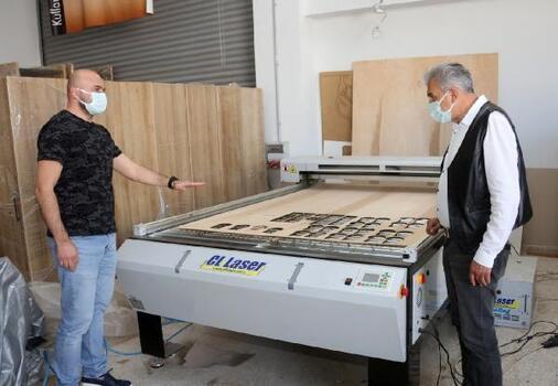AÜ, ahşap, mobilya üretiminde diğer üniversitelere örnek