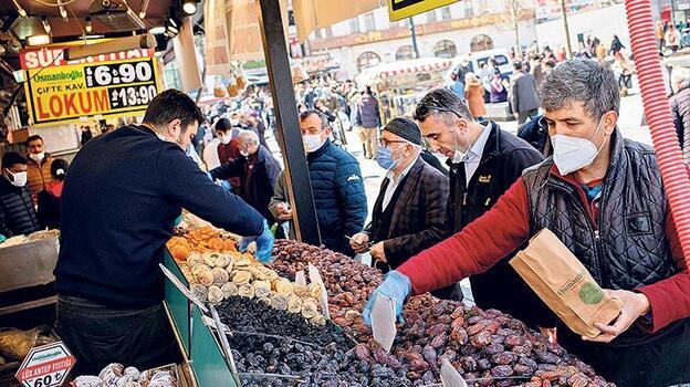 Çarşı, pazarda Ramazan bereketi