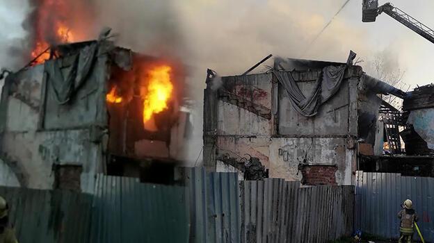 Fatih'te korkutan yangın! Bina kullanılmaz hale geldi