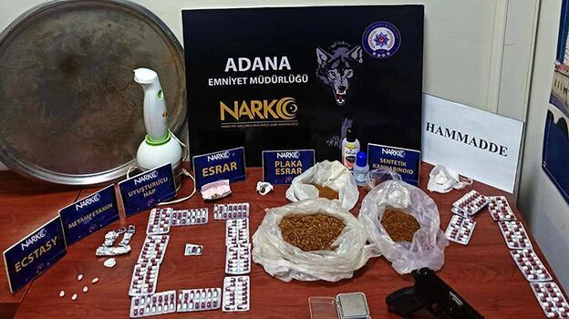 Adana'daki 'torbacı' operasyonunda 20 tutuklama