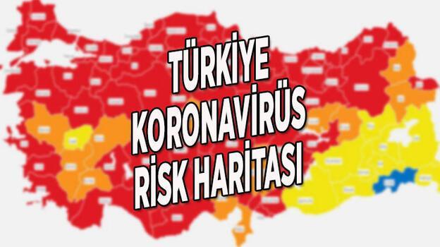 Türkiye koronavirüs risk haritası 14 Nisan: Düşük, orta, yüksek ve çok yüksek riskli iller hangileri?
