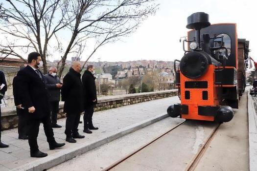 Tarihi Kağıthane treni Haziran'da raylarda