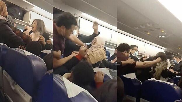 Son dakika: İstanbul uçağında şoke eden anlar! Uçuş saatlerce gecikmişti