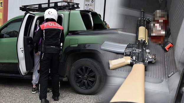 Antalya'da 'uzun namlulu tüfek' alarmı! 5 kişi gözaltına alındı