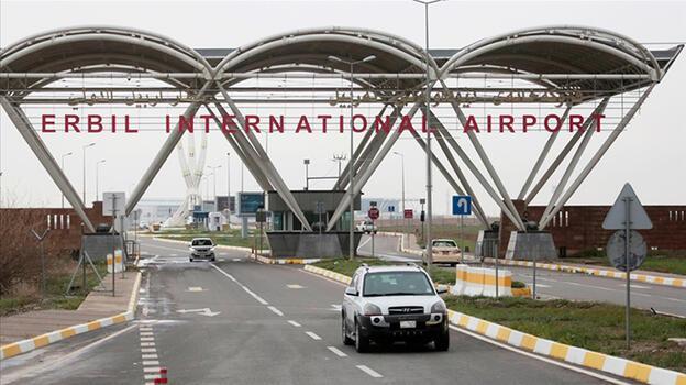 Son dakika: Erbil Uluslararası Havalimanı'na füze saldırısı