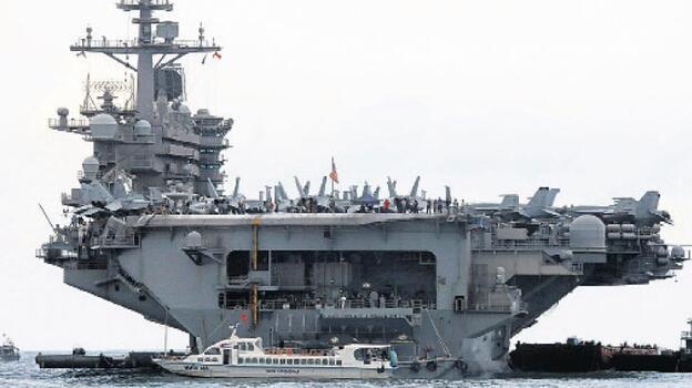 ABD savaş gemilerinin 14-15 Nisan'da Boğazlardan geçişini iptal etti