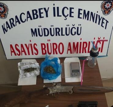 Karacabey'de uyuşturucu operasyonu: 6 tutuklama