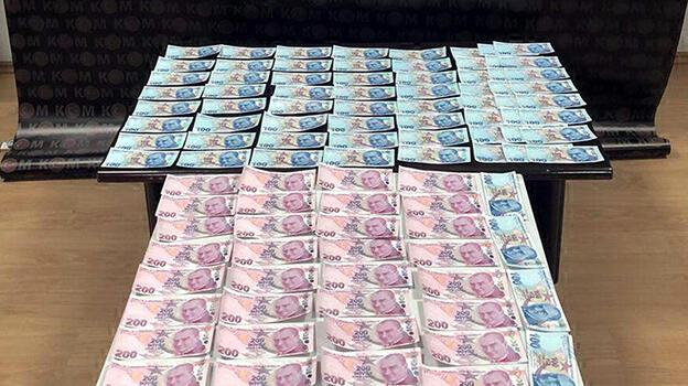 Tekirdağ'da 13 bin 600 lira sahte para ele geçti