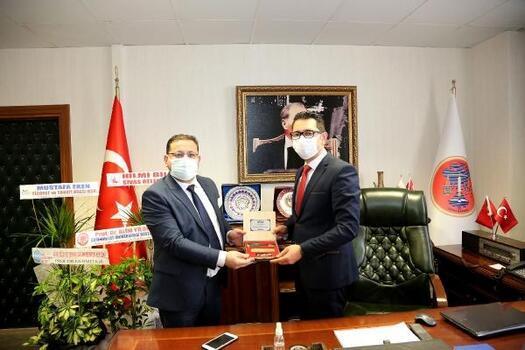 Başkan Eken'den STK ve kamu görevlilerine ziyaret