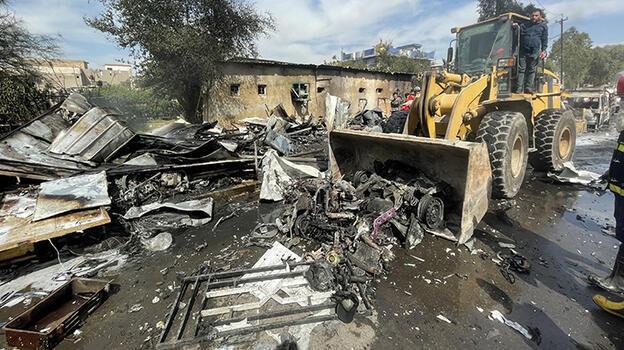 Bağdat'ta bombalı araç patladı